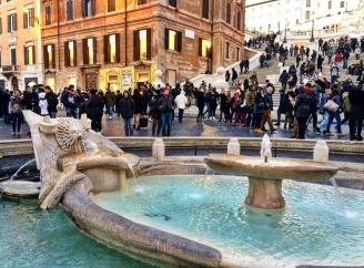 Piazza di Spagna praças de Roma 1