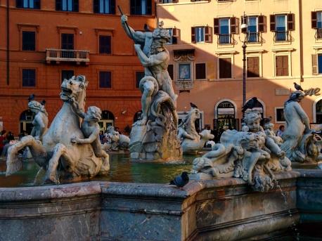 Piazza Navona praças de Roma 8