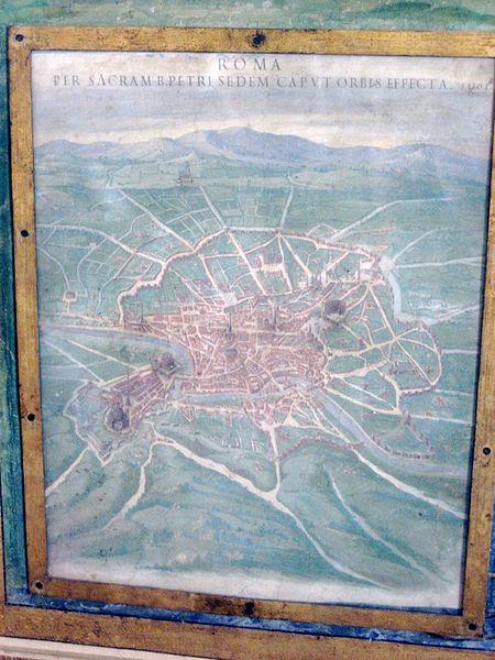 Renaissance-era_Map_of_Rome_(3631775293)
