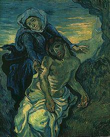 Vincent_van_Gogh_-_Pietà_(after_Delacroix)