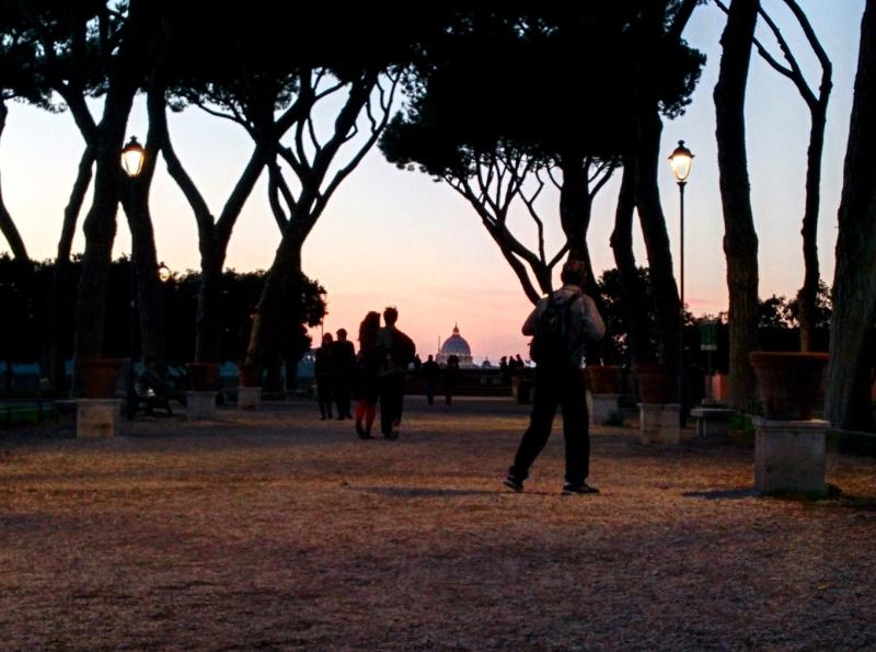Vista do Jardim das Laranjas, Roma 4