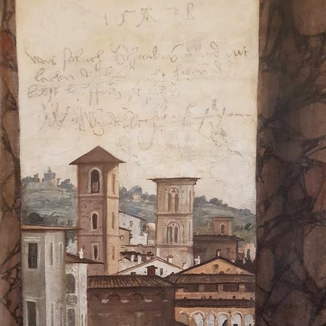 Detalhe na Villa Farnesina