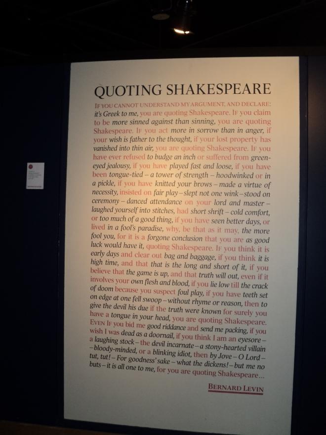 Expressões inventadas por Shakespeare