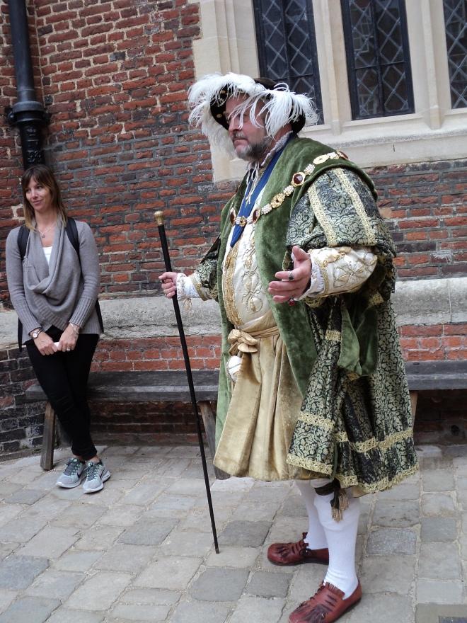 Hampton Court Palace atores Henrique VIII