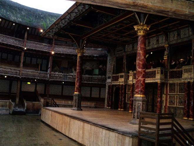 Palco Shakespeare's Globe