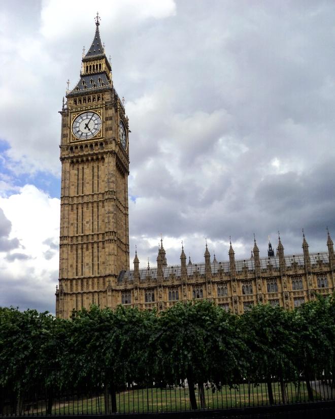 Parlamento Big Ben Londres