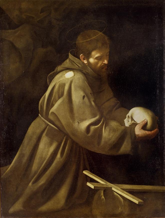 Caravaggio San Francesco