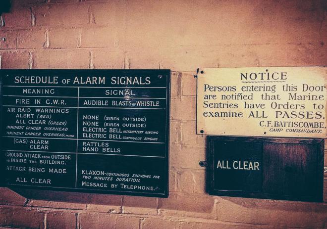 Churchill War Rooms Londres avisos