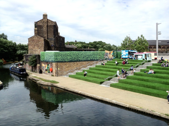 Granary Square Londres Regent's Canal