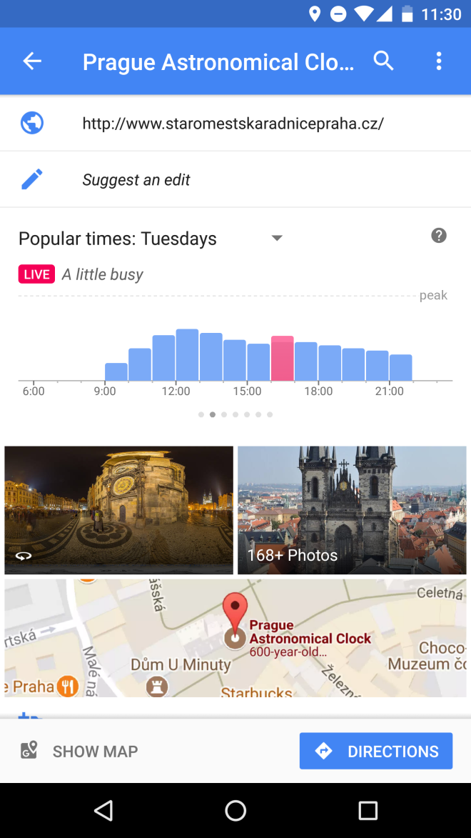 Melhor horário para visitar uma atração