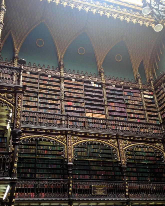 Real Gabinete Portugues de Leitura - bibliotecas mais bonitas do mundo 1