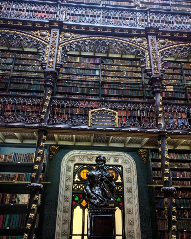 Real Gabinete Portugues de Leitura - bibliotecas mais bonitas do mundo 3