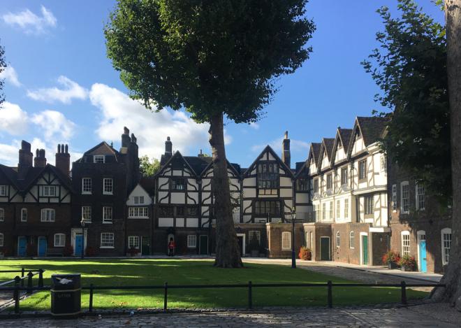 Torre de Londres casa da rainha es estilo Tudor