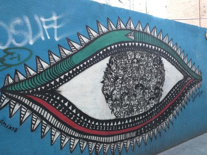 Arte de rua Raval Barcelona 14