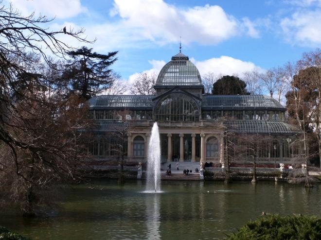 Buen Retiro palacio de cristal exterior