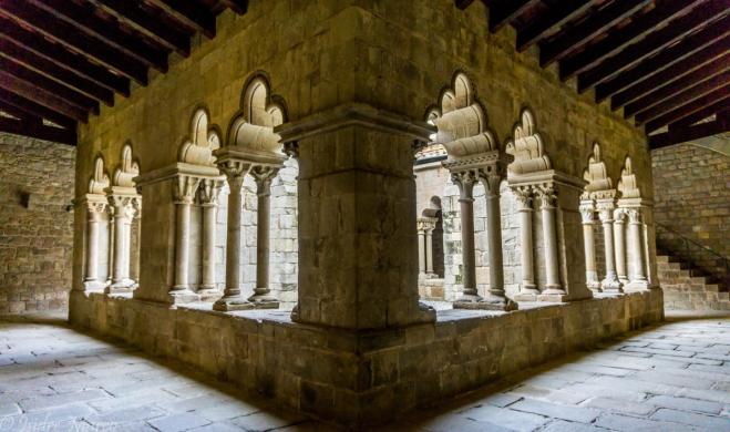 Claustro Monasterio San Pau Barcelona