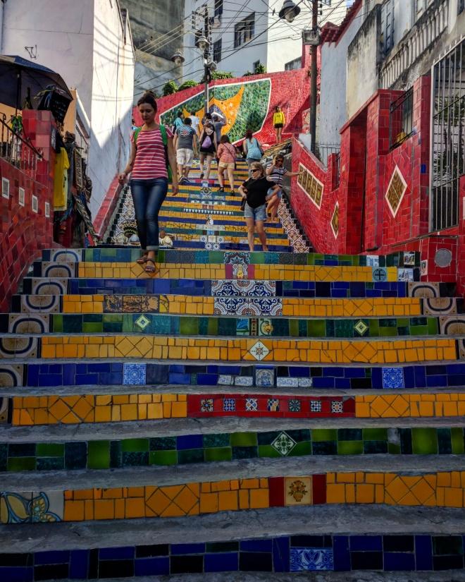 Escadaria Selarón Rio 1