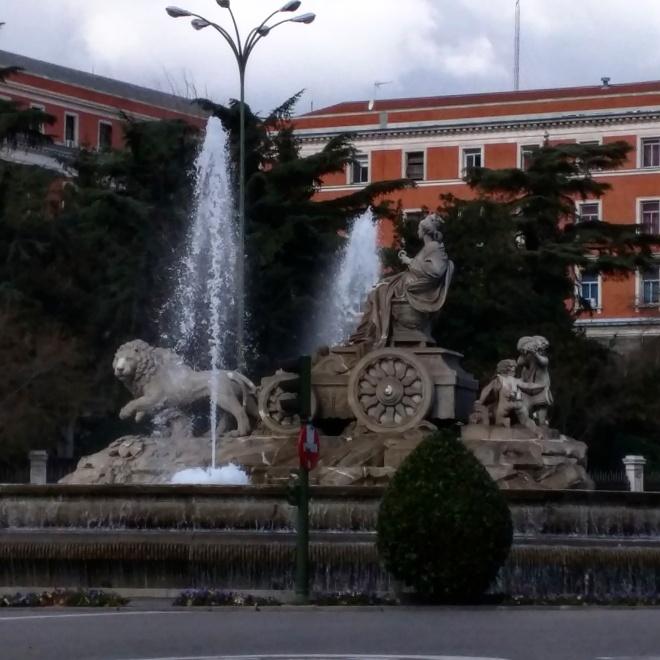 Madrid fuente de las cibeles