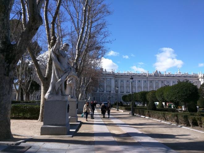 Madrid palácio real