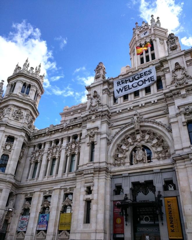 Madrid plaza de las cibeles