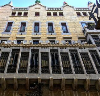 Palau Guell Barcelona Gaudì Raval 2