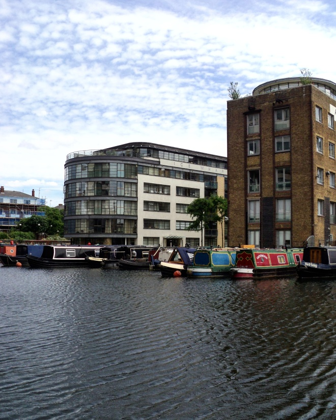 Regent's Canal casas barco 2