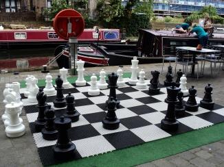 Regent's Canal jogo de xadrez