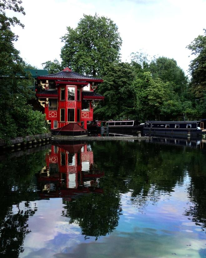 Regent's Canal restaurante chinês flutuante