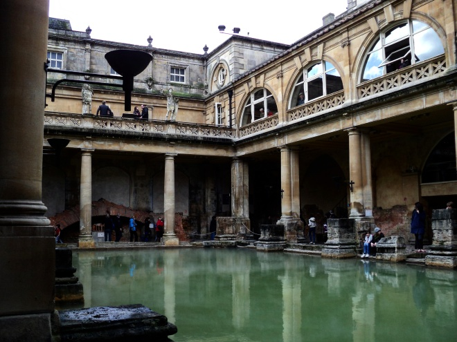 Termas romanas Bath Inglaterra2