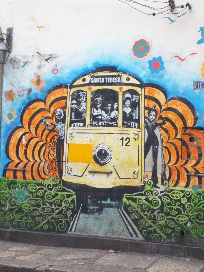 Grafite do bonde em Santa Teresa 1