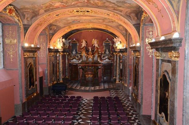 klementinum praga capela espelhos