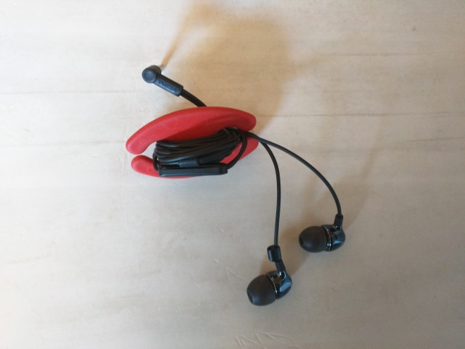 Organizador de fones de ouvido Bobino