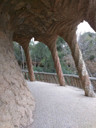 Parque Guell Gaudì Barcelona3