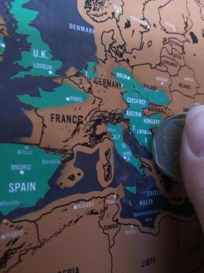 Scratch map deluxe mapa paa raspar