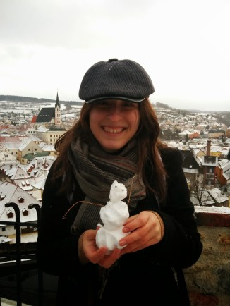 Trabalho voluntário Praga edison mascote
