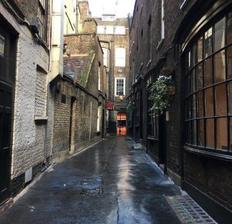Goodwin's Court Londres ruazinha vitoriana 2