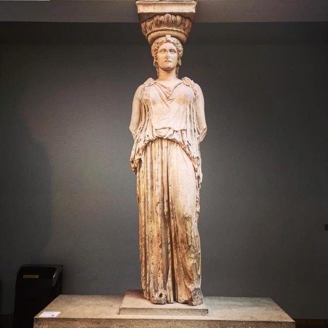 Museu britanico londres cariatide