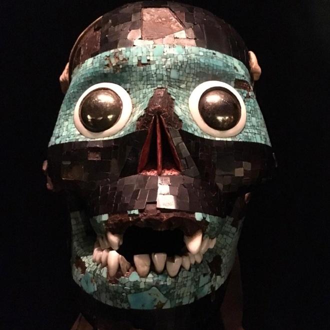 Museu britanico londres Máscara de Tezcatlipoca