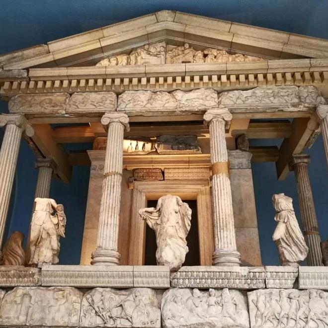 Museu britanico londres monumento das nereidas