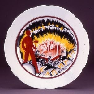 russian revolutionary plate