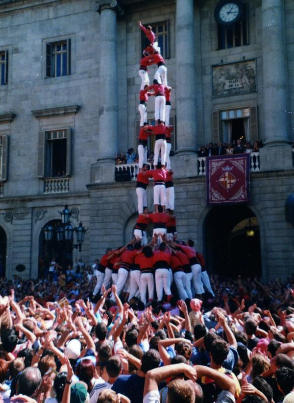 castellers barcelona wikicommons