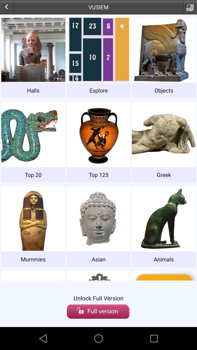 British museum apps cultura arte londres