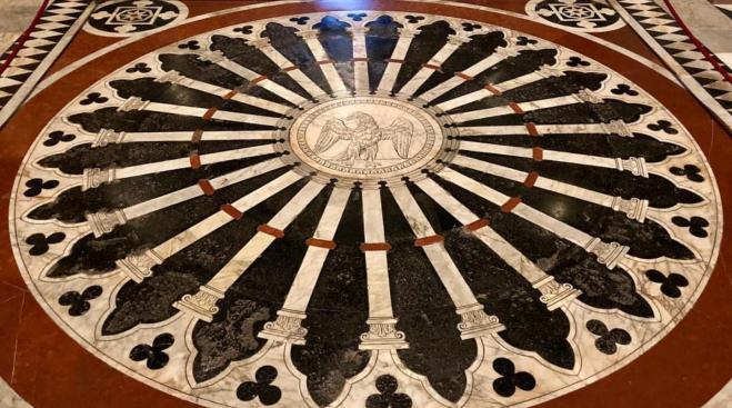 Duomo de Siena chão mosaicos