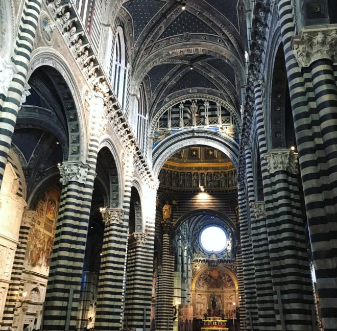 Duomo de Siena interior