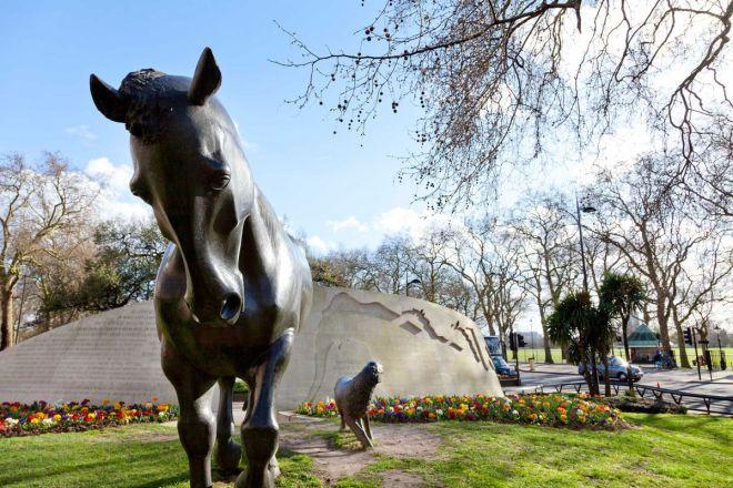 animais memorial hyde park