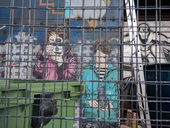 Fabricas de Moscou centros culturais vinzavod arte de rua