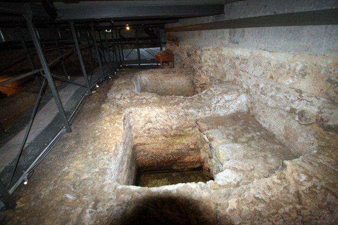 tanques garum lisboa epoca romana milenium centro arqueologico