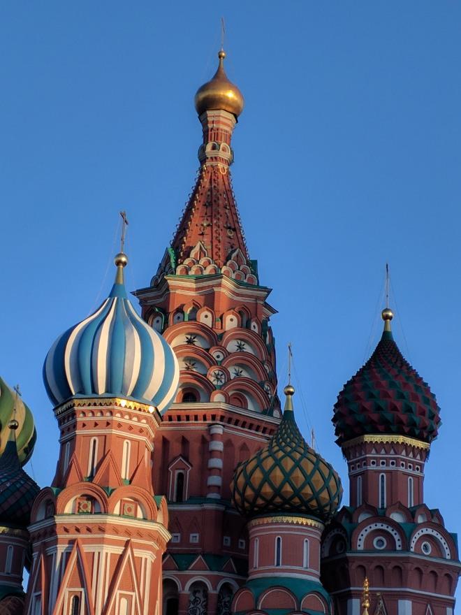 Catedral de São Basílio Praça Vermelha Moscou 2