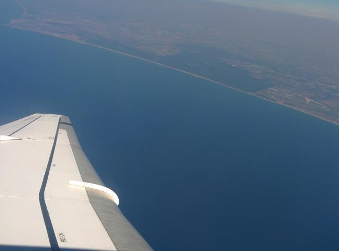 aquela foto da janela do aviao