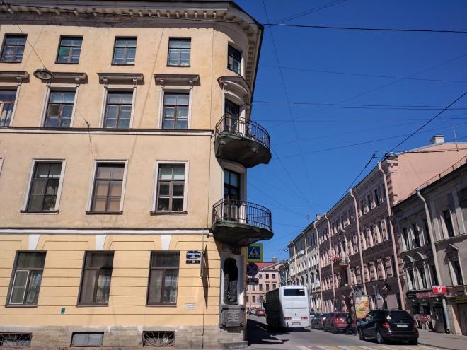 Crime e Castigo Dostoievski casa de Raskolnikov